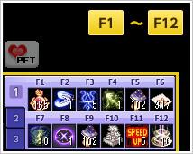 F1~F12