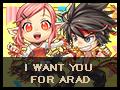 【終了】I WANT YOU FOR ARAD イベント