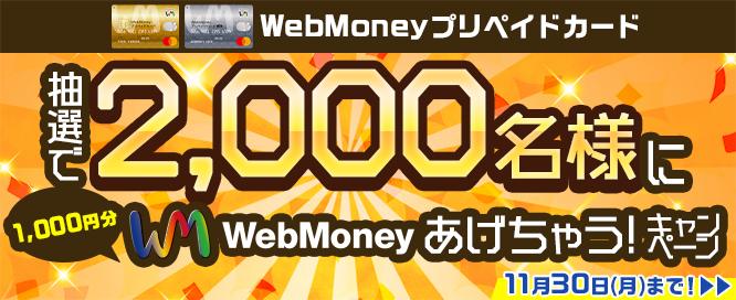 WebMoney告知