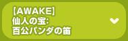 [AWAKE] 仙人の宝:百公パンダの笛
